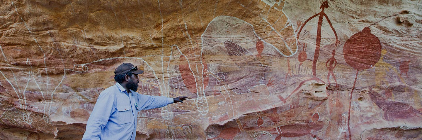 GUIDED ABORIGINAL ROCK ART TOURS