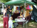Clothes stall  – Wallaby Creek Festival