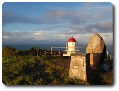 Lighthouse and Cairn