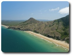 Headland near Cooktown, Queensland. Courtesy of Tourism Queensland