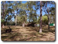 Campsite at Hann River Roadhouse