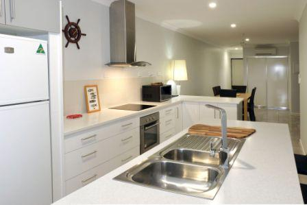 Cooktown Harbour Views Luxury Apartments kitchen
