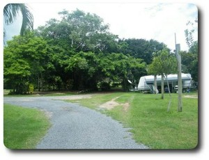 Camping ground at Orchid Caravan Park